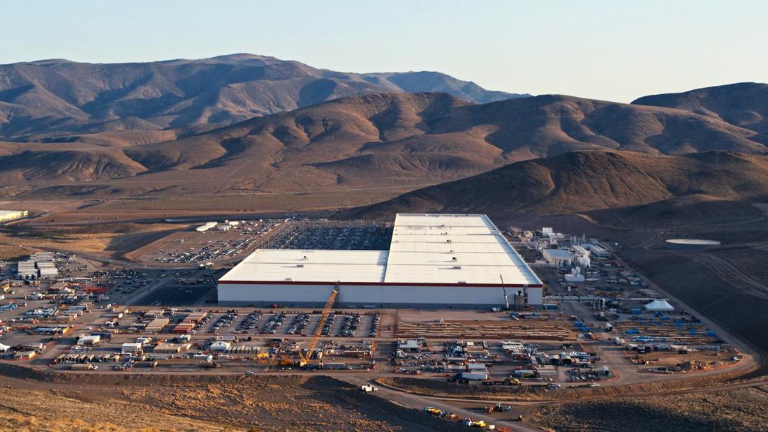 Фото: Gigafactory Tesla , Nevada