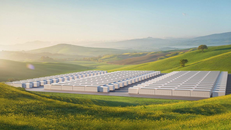Ілюстративне фото Tesla - установка Megapack