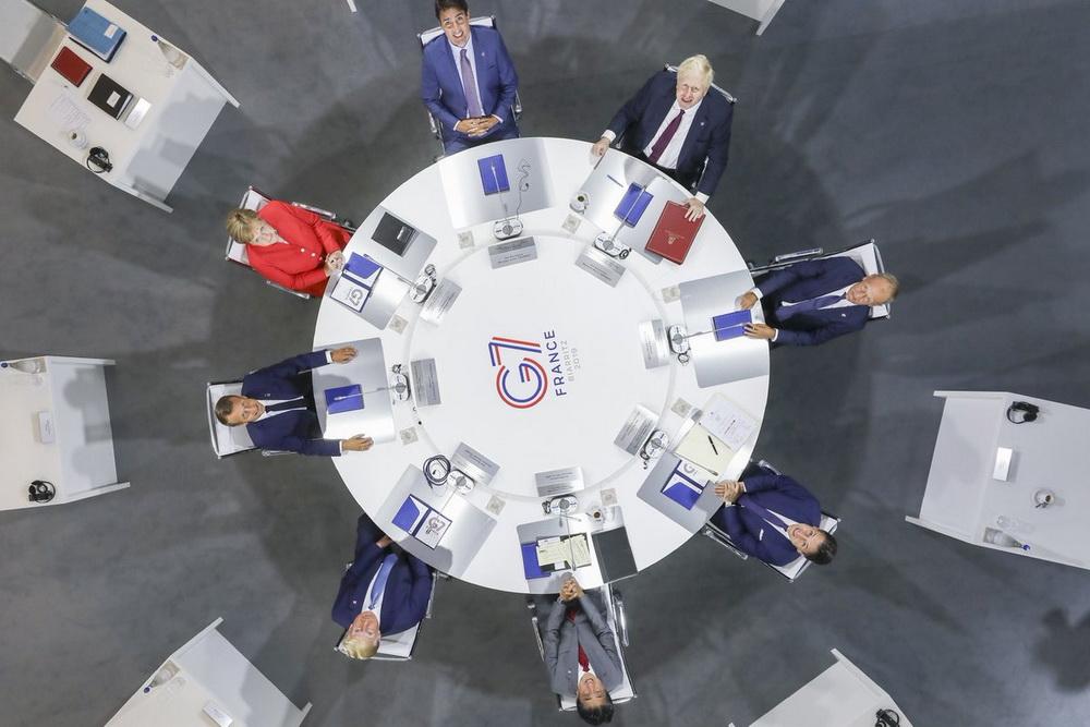 На фото: учасники G7