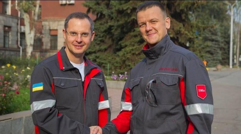 На фото: Ростислав Шурма та Олександр Мироненко (справа)
