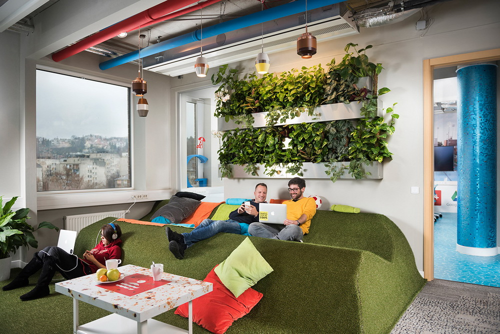 На фото: офіс Google