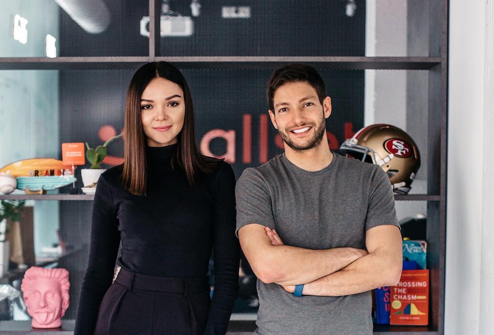 Засновники стартапу Стас Матвієнко та Ганна Поліщук Фото: techcrunch.com