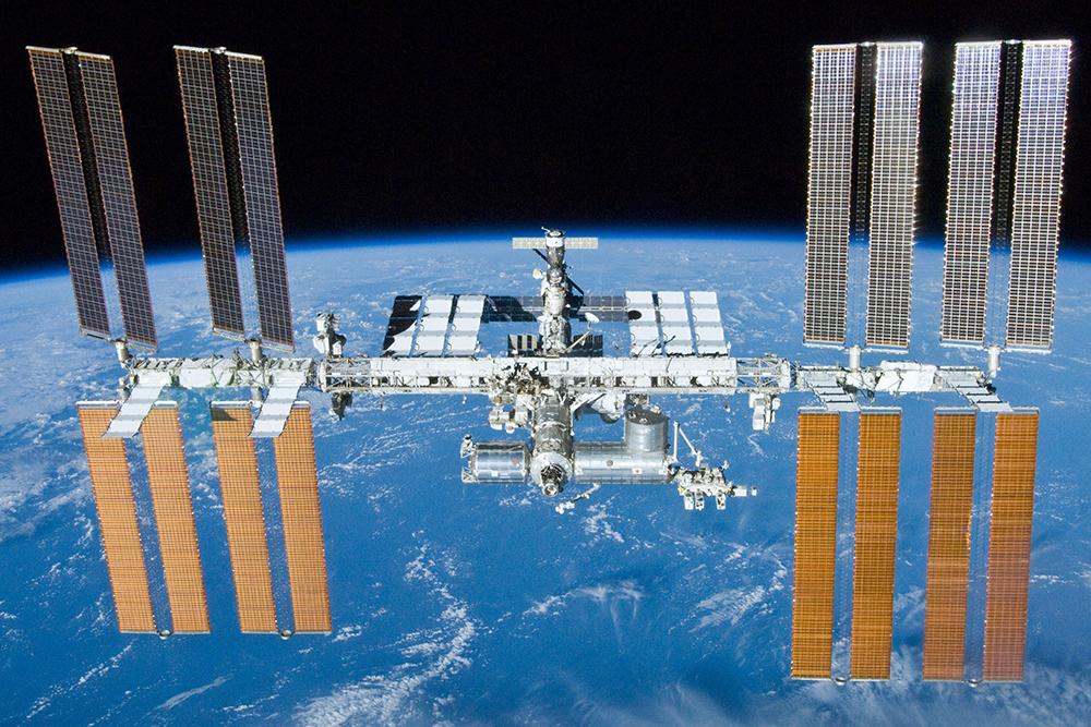 На фото: Міжнародна космічна станція