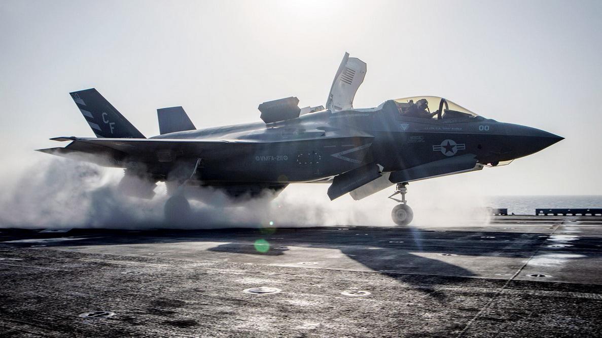 На фото: винищувач-бомбардувальник F-35