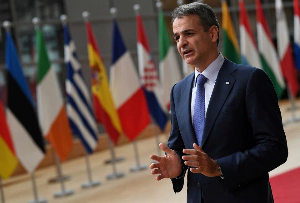 Фото: Прем'єр-міністр Греції Кіріакос Міцотакіс/Reuters